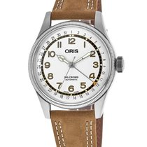 Oris Big Crown Pointer Date Acier Arabes