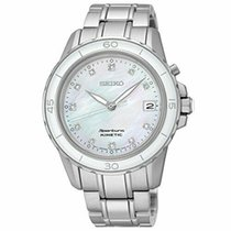 Seiko Sportura Steel 37mm Mother of pearl United States of America, New Jersey, Somerset