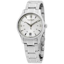 Victorinox Swiss Army Alliance Steel 30mm Silver Arabic numerals United States of America, New Jersey, Somerset