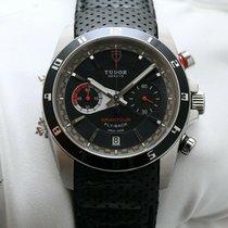 Tudor Grantour Chrono Fly-Back Steel 42mm Black No numerals