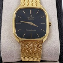 Omega Yellow gold Quartz 32mm pre-owned Constellation