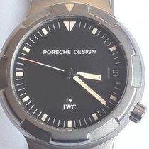 IWC Porsche Design Титан 34mm Черный Без цифр
