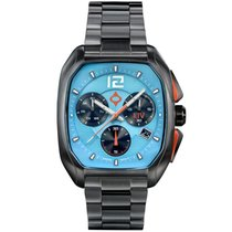 Liv Watches Stahl 41mm Chronograph neu