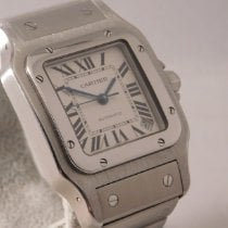 Cartier Santos Galbée Steel 32mm White Roman numerals United States of America, Michigan, Warren