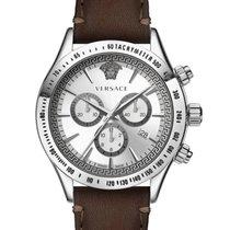 Versace Steel 44mm Quartz VEV700119 new