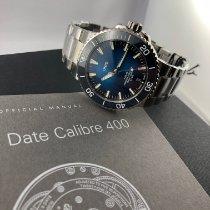 Oris Aquis Date Stahl 43,50mm Blau Deutschland, Augsburg