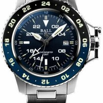 Ball Engineer Hydrocarbon GMT Acero 42mm Azul