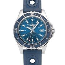 Breitling Superocean II 42 Stahl 42mm Blau
