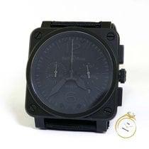 Bell & Ross BR 03-94 Chronographe pre-owned Date Rubber