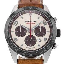 Montblanc Timewalker Steel 43mm Champagne Arabic numerals
