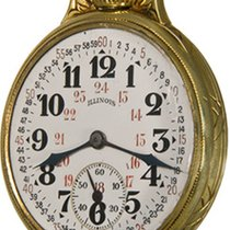 Illinois Watch pre-owned Arabic numerals Manual winding Watch only