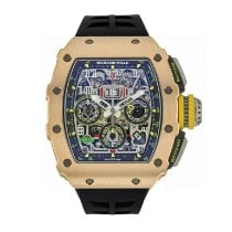 Richard Mille Automatic Transparent 49.9mm pre-owned RM 011