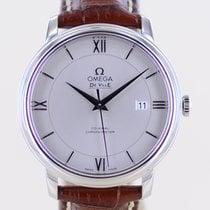 Omega De Ville Co-Axial Ocel 36mm Šedá Bez čísel