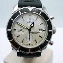 Breitling Superocean Heritage Chronograph Stahl 46mm Silber Keine Ziffern Deutschland, Düsseldorf