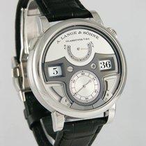A. Lange & Söhne Zeitwerk Platin 44.2mm Silber Deutschland, Heilbronn