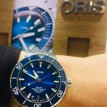 Oris Steel Automatic 01 400 7763 4135-07 8 24 09PEB new