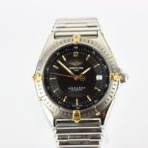 Breitling Antares Золото/Cталь 39mmmm Черный