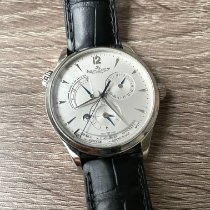 Jaeger-LeCoultre Master Geographic Steel 39mm Silver Arabic numerals United States of America, California, Sunnyvale