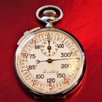 Breitling Watch pre-owned 1940 Steel 49mm Arabic numerals Manual winding Watch only