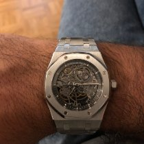 Audemars Piguet Royal Oak Selfwinding Acier 39mm Transparent Sans chiffres France, Charenton le pont
