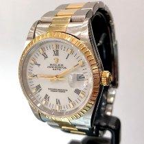 Rolex Oyster Perpetual Date Acero y oro 34mm Blanco Romanos España, Fuengirola (Malaga)