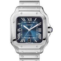 Cartier Santos (submodel) новые 2020 Автоподзавод Часы с оригинальными документами и коробкой WSSA0030