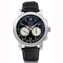 A. Lange & Söhne Double Split Platinum 43mm Black Roman numerals United States of America, California, Newport Beach