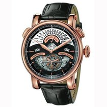 Arnold & Son 1GTBP.B01A.C22B New Rose gold 46mm Automatic