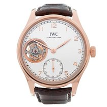 IWC Portuguese Tourbillon new Manual winding Watch with original box and original papers IW546302