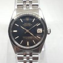 Rolex Datejust Steel 31mm Black No numerals India, MUMBAI