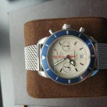 Breitling Superocean Heritage Chronograph Acier Noir Sans chiffres