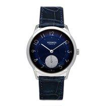 Hermès Slim d'Hermès Stahl 39.5mm Blau Arabisch