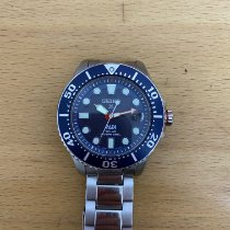 Seiko Prospex Steel 43.5mm Blue No numerals