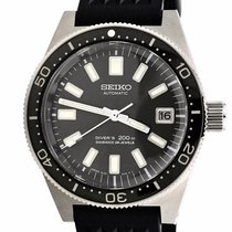 Seiko Marinemaster Steel 39.9mm Black United States of America, Georgia, Atlanta