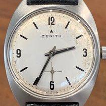 Zenith Steel 33mm Manual winding zenith stellina pre-owned