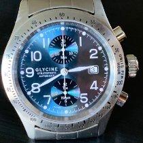 Glycine usados Automático 45mm Azul Cristal de zafiro 10 ATM