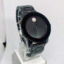Movado Céramique Quartz Noir Sans chiffres 36mm nouveau Bold
