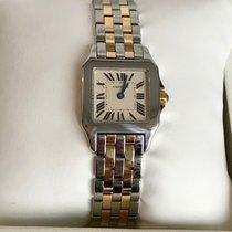 Cartier Santos Demoiselle Gold/Steel 20mm Silver Roman numerals United States of America, New York, New York