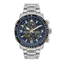 Citizen Promaster Sky nuevo Cuarzo Cronógrafo Reloj con estuche y documentos originales JY8078-52L