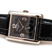 Patek Philippe Gondolo Or blanc 33mm Noir Arabes France, Paris