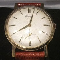 Gruen 34mm Manual winding Precision pre-owned United States of America, Florida, Tampa