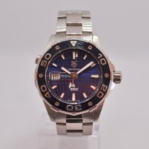 TAG Heuer Aquaracer 500M Steel 43mm Blue No numerals