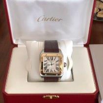 Cartier Santos 100 nuevo 2008 Automático Reloj con estuche y documentos originales W20072X7