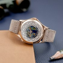 Patek Philippe World Time Or rose 39.5mm Argent
