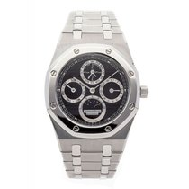 Audemars Piguet Royal Oak Perpetual Calendar Acier Noir France, Paris