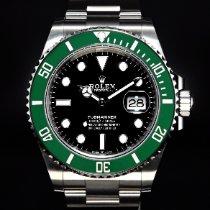 勞力士 Submariner Date 新的 2021 自動發條 附正版包裝盒和原版文件的手錶 126610LV