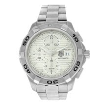 TAG Heuer Aquaracer 300M Steel 43mm White Arabic numerals United States of America, New York, New York