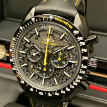 Omega Speedmaster Professional Moonwatch Cerámica 44.25mm Negro Sin cifras