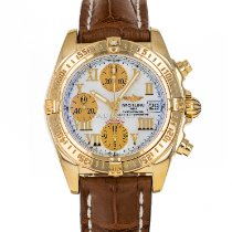 Breitling Chrono Cockpit Yellow gold 39mm Mother of pearl Roman numerals United States of America, Maryland, Baltimore, MD