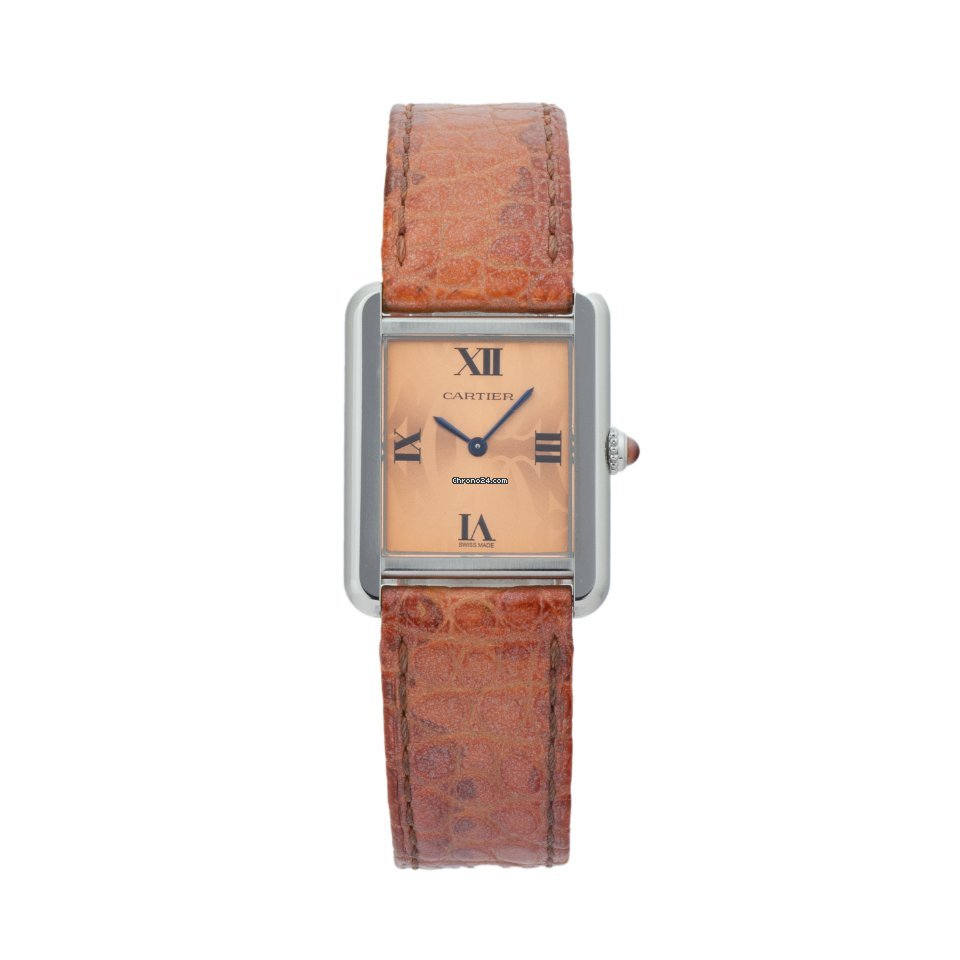 Cartier Tank Solo W1019555 2010 pre-owned
